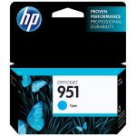 Картридж для HP Officejet Pro 8610 e-All-in-One, 8620 e-All-in-One (CN050AE №951) (голубой)