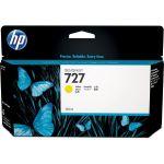 артридж для HP Designjet T920, T1500 (B3P21A №727) желтый