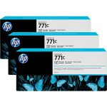 Картридж для HP Designjet Z6200 (B6Y37A №771C) (фото черный) (775 мл) (3 шт)