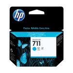 Картридж для HP Designjet T120, T520 (CZ130A №711) голубой