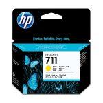 Картридж для HP DesignJet T120, T520 (CZ136A №711) (желтый) (29 мл) 3 шт