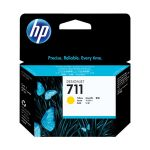 Картридж для HP Designjet T120, T520 (HP CZ132A) (желтый)