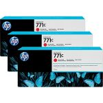 Картридж для HP Designjet Z6200 (B6Y32A №771C) (красный) (775 мл) (3 шт)