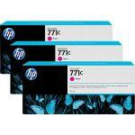 Картридж для HP Designjet Z6200 (B6Y33A №771C) (пурпурный) (775 мл) 3 шт