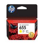 Картридж для HP Deskjet Ink Advantage 3525, 4615, 4625, 5525, 6525 e-All-in-One (CZ112AE №655) желтый