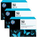 Набор картриджей для HP Designjet T7100 (CR273A №761) (серый) 3 шт