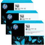 Набор картриджей для HP Designjet T7100 (CR274A №761) (темно-серый) 3 шт