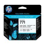 Печатающие головки для HP DesignJet Z6200 (CE020A №771) (фото черный, светло-серый)