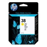 Картридж для HP PhotoSmart Pro B9180, B9180gp (C9417A №38) желтый