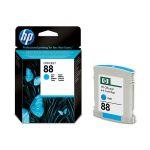 Картридж для HP OfficeJet Pro K550, K550dtn, K550dtwn, K5400 (C9386AE №88) (голубой) (22,8 мл)
