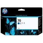 Картридж для HP Designjet Z2100, Z3100, Z3200 (C9458A №70) (синий) 130 мл