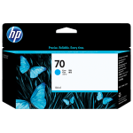 Картридж для HP Designjet Z2100, Z3100, Z3200 (C9452A №70) голубой, 130 мл
