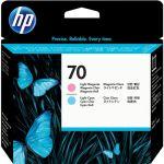 Печатающая головка HP 70 Light Magenta&Light Cyan (C9405A)
