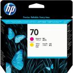 Печатающие головки для HP DesignJet Z2100, Z3100, Z3200, PhotoSmart Pro B8850, B9180 (C9406A №70) (пурпурный, желтый)