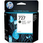 Картридж №727 с матовыми черными чернилами для HP, оригинальный