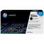 HP 504A Оригинальный лазерный картридж HP LaserJet, Черный(CE250A)