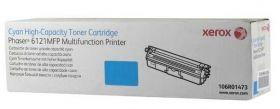 Картридж для Xerox Phaser 6121 MFP голубой