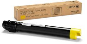 Тонер желтый (15K) (006R01400) XEROX WC 74xx, оригинальный