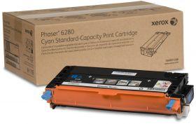 Принт-картридж голубой Xerox (106R01388) Phaser 6280, оригинальный (2,2K)