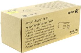 Тонер-картридж повышенной емкости Xerox 106R02732 для Xerox Phaser 3610/WorkCentre 3615