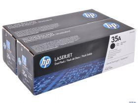 Картридж черный HP 35A (двойной) LaserJet P1005/P1006 (2x1,5K)