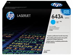 Картридж голубой HP Color LaserJet 4700 (10К)
