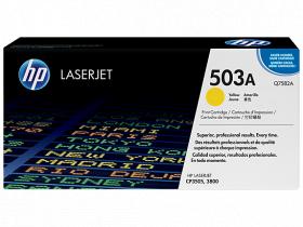 Картридж желтый HP Color LaserJet 3800/CP3505 (6К)