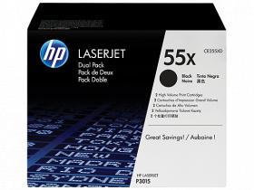 Тонер картридж HP (двойная упаковка) для LJ P3015