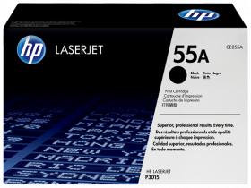 Картридж черный HP 55A LaserJet P3015 (6К)