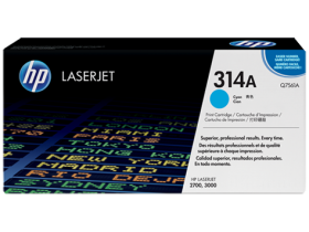 Картридж голубой HP Color LaserJet 2700/3000 (3,5K)