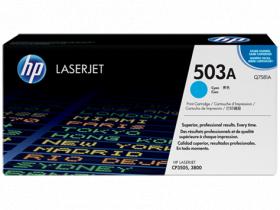 Картридж голубой HP Color LaserJet 3800/CP3505 (6K)