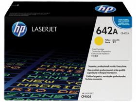 Тонер-картридж желтый HP Color LaserJet CP4005 (7,5K)