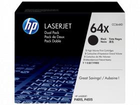 Картридж Hewlett-Packard для LaserJet P4015/4515 Двойной. Черный.