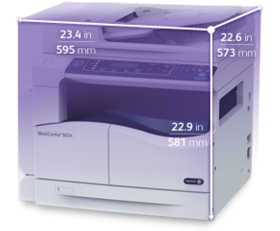 Размеры Xerox WorkCentre 5024D