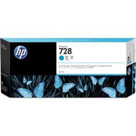 Картридж для HP DesignJet T730, T830 (F9K17A №728) (голубой)