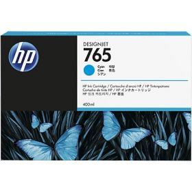 Картридж для HP Designjet T7200 (F9J52A №765) (голубой) 400 мл