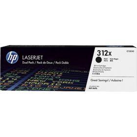 Тонер-картридж для HP Color LaserJet Pro MFP M476dn, M476nw, M476dw (CF380XD №312X) черный, 2 шт