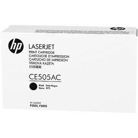 Тонер Картридж HP CE505AC черный LJ P2035/2055 (2300стр.)
