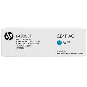 Тонер-картридж для HP Laserjet Pro 300 Color M351a, MFP M375nw, 400 Color MFP M475dn, MFP M475dw, M451dn, M451dw, M451nw (CE411AC №305A) (голубой)