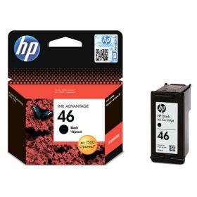 Картридж для HP Deskjet Ink Advantage 2020hc, 2520hc (CZ637AE №46) черный