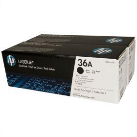онер картридж HP CB436AD (двойная упаковка) для LJ P1505