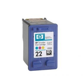 Картридж для HP DJ 3920, 3940, PSC 1410 (C9352AE №22) (цветной)