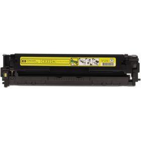 Желтый картридж CE322A