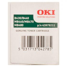 Тонер-картридж OKI B430/B440/MB460/MB470/MB480 (43979211/43979202)