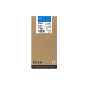 Картридж Epson T5962 (cyan) 350 мл (C13T596200)
