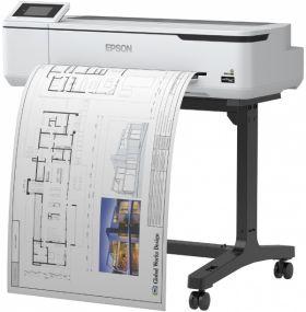 Принтер для цветной печати Epson SureColor SC-T3100N 24'' без стенда