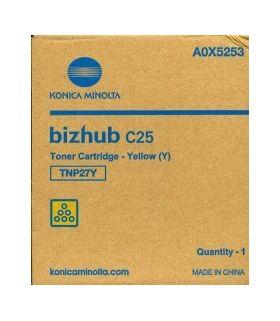 Картридж желтый TNP-27Y (A0X5253) Konica Minolta