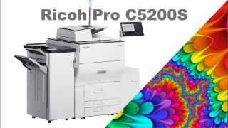 Профессиональная цифровая печать с Ricoh Pro C5200s
