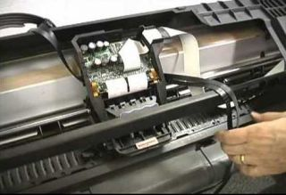 Замена ремня каретки HP DesignJet 500/800