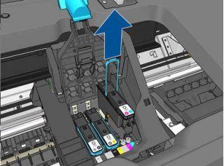 Как заменить головкув плоттерах HP T930, HP T1530